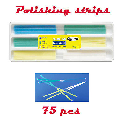 Dental Polishing Finishing Strips Universal Kit 75 pcs pack strip