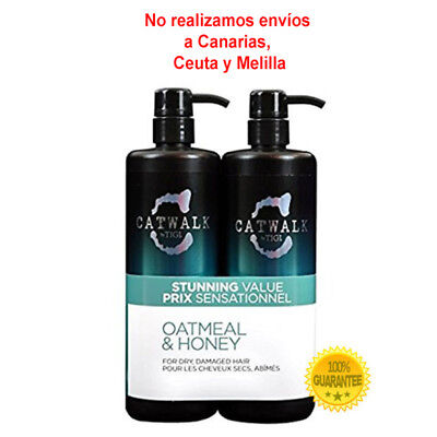 Tigi Tween Oatmeal Shampoo y Conditioner 750 ml.