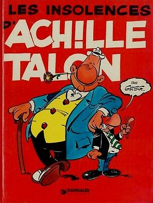 Eo Michel Greg Collection Pilote 1973  : Les Insolences D'achille Talon