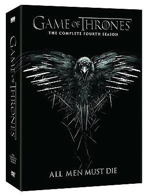 Game of Thrones: the complete fourth Season 4 ( DVD 2015) Pre Order ship on 3/10