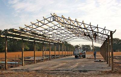 STEEL ROOF TRUSS for 60' for Hay Barns, Horse Stalls, Agriculture, Pole Barn