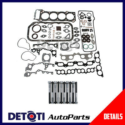 Fits:1994-2000 Toyota Tacoma 4Runner T100 2.7 3RZFE Full Gasket Set & Head Bolts