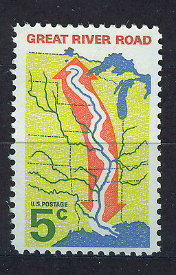 ESTADOS UNIDOS/USA 1966 MNH SC.1319 Great River Road