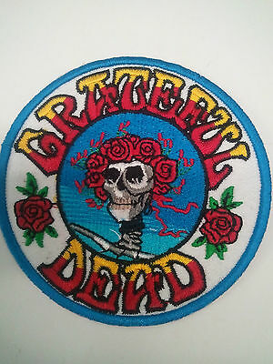 "(O) Grateful Dead Bertha iron on patch 3-1/2"" (AF35) ©GDP"