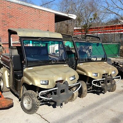 """2- 2008 GUTBUDDY'S BULL'S """"PARTS OR REPAIR"""" 56 MILES 2 WD HEAT, WINCH, CD PLAYER"""
