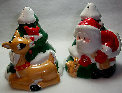 Lenox Rudolph Salt and Pepper Shakers REDUCED!