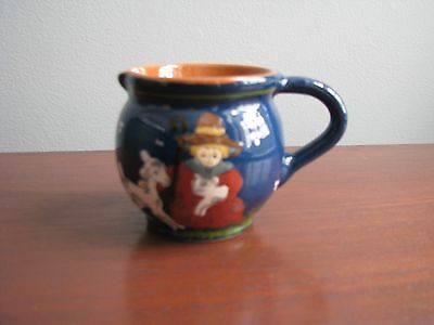 Unusual Little Bo Peep Pottery Creamer