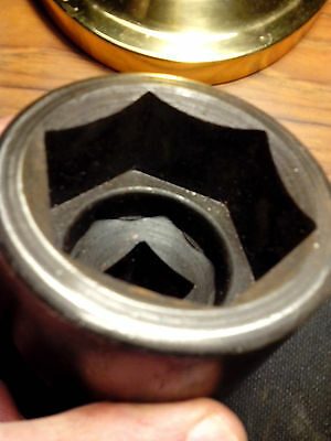 """2 3/8"""" WILLIAMS IMPACT SOCKET 7-676    1"""" ONE INCH DRIVE A DIVISION OF SNAP ON T"""