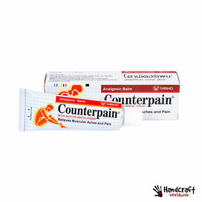 120g Counterpain Stop Pain Relief Back Muscle Leg Cramps Reliever Analgesic Balm
