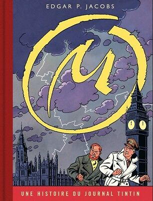 Eo Blake Et Mortimer + E.p. Jacobs La Marque Jaune ( Version Journal De Tintin )