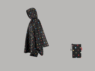 mini maxi poncho by Reisenthel dots AN7009 Regencape Regenpocho