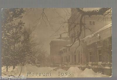 Old Postcard Finland Suomi  Real Photo