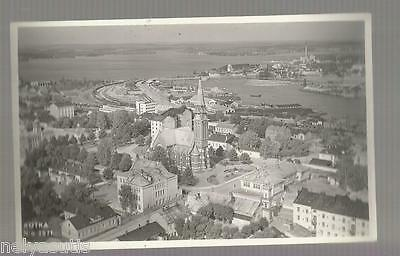 Old Postcard Finland Suomi  Kotka Real Photo