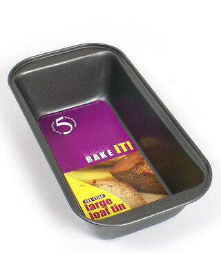 Bake It Small Non Stick Rectangular 1lb Loaf Tin Pan Cake Mould Oven