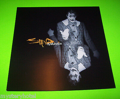 """STAIND DYSFUNCTION UNIQUE PROMO ONLY COLOR ARTWORK FLAT DOUBLE SIDED 12""""x12"""""""