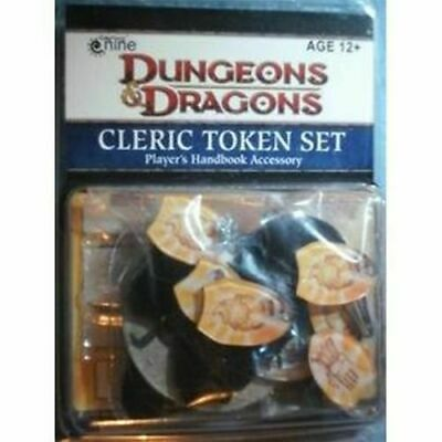 Dungeons & Dragons CLERIC TOKEN SET - NUOVO  (Cod D&D 124)