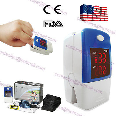 USA seller CE&FDA finger Pluse Oximeter with SPO2,PR monitor,OLED display,CMS50N