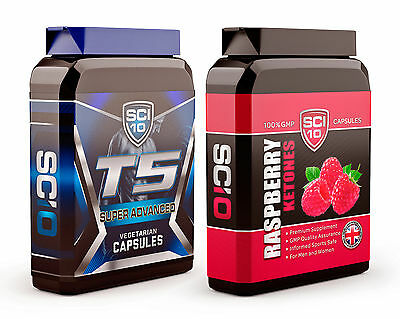 T5 FAT BURNERS & RASPBERRY KETONES - Strong Diet Pills for Slimming WEIGHT LOSS