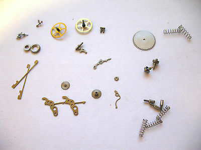 Jaeger Le Coultre,jlc 476,481 Watch Assorted New Old Stock Movement Parts
