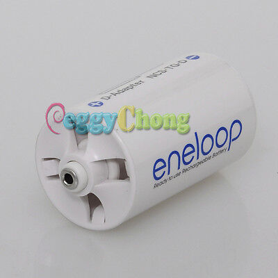 Sanyo Eneloop Battery Adaptor Converter Case AA R6 to D R20 D-Size