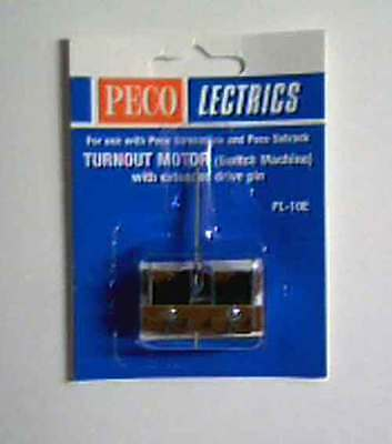 Peco Lectrics PL-10E Electric Turnout or Point Motor for Under Baseboard New