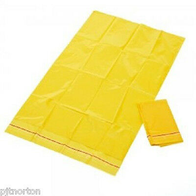 200 x Biohazard Disposal Yellow Bags Clinical Waste 27x46cm 270 x 460mm