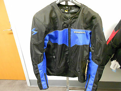 Scorpion Drafter Blue Mesh Jacket (CLC)