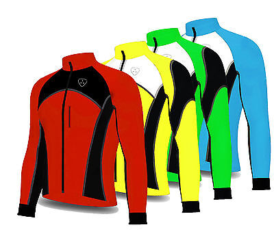 Softshell Wind Stoper Road Vélo Veste Top Thermique Complet Saleeve