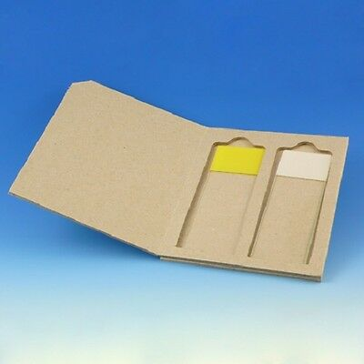 50-Microscope Slide Mailers for 2,cardboard (1 boxes of 50) Globe 513002-50
