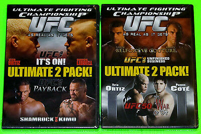 Ultimate Fighting Championship DVD Lot - UFC 47 & 48 (New) UFC 49 & 50 (New)