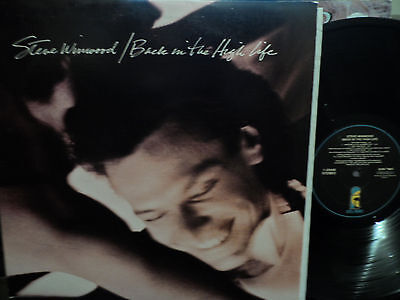 Steve Winwood - Back in the High Life LP VG+ Condition