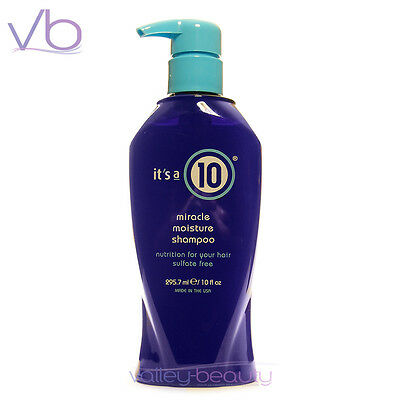IT'S A 10 Miracle Moisture Shampoo 10oz  Made In USA Sulfate FREE, its a 10