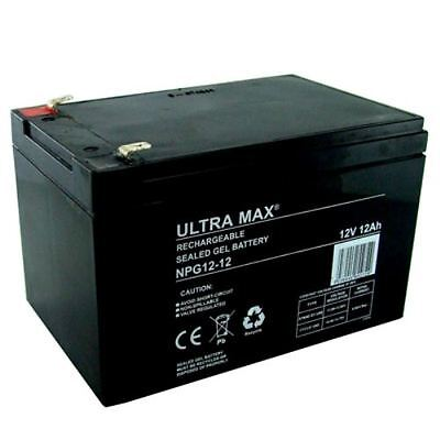 2 X Ultra Max 12V 12Ah Gel piles Mobilité Medicare Rio 4 PIONEER