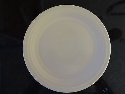 """*VINTAGE* Fiesta Ware 9"""" LUNCHEON PLATE Old Ivory (1936-1951) 9 1/2"""" B"""