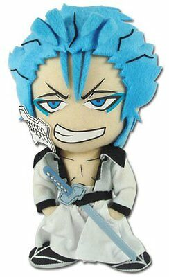 """BRAND NEW 9"""" Grimmjow Great Eastern Bleach Animation Plush Toy DOLL (GE-8978)"""