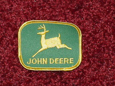 (2) John Deere Patches