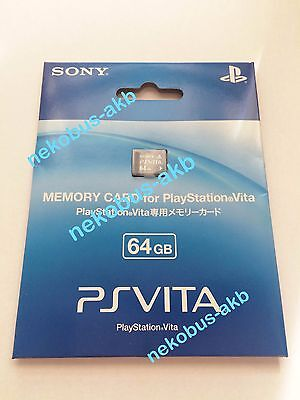 [Brand New] PS VITA Memory Card 64GB [Sony Official] [Japan Import] PSV