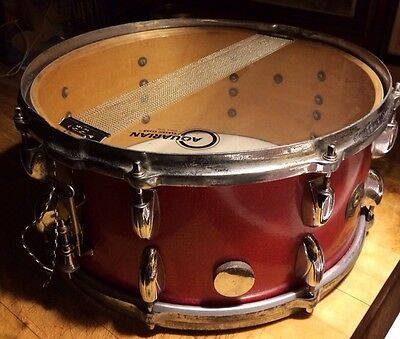 "vintage 1953 gretsch round Badge 6. 5""  X 14""snare drum"