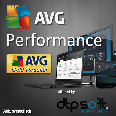 AVG Performance Pro 2019 ohne PC Begrenzung TuneUp 2018 DE  EU