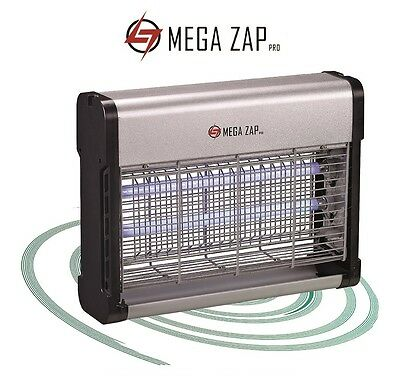 Megazap Pro Electric Fly Zapper / Bug, Insect Killer Grid - 16W, 30W, 40W