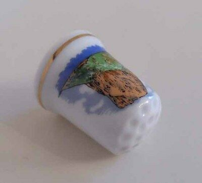 Vintage Calpe Spain Collectors Thimble (Sewing)