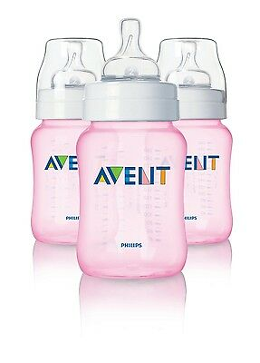 AVENT CLASSIC BOTTLES - 9 oz (PACK OF 3) - SCF684/37