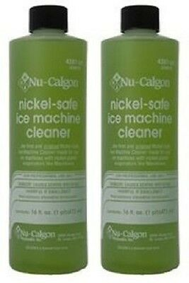 2-Lot Nu-Calgon 4287-34 Nickel-Safe Ice Machine Cleaner - New OEM