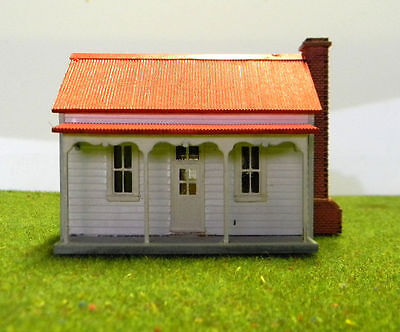 HO scale Victorian Miners Cottage