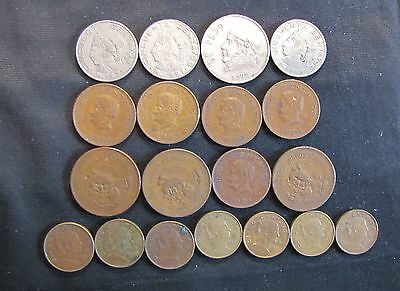 Assorted Lot of Mexican Coins - 1950s, 1960s