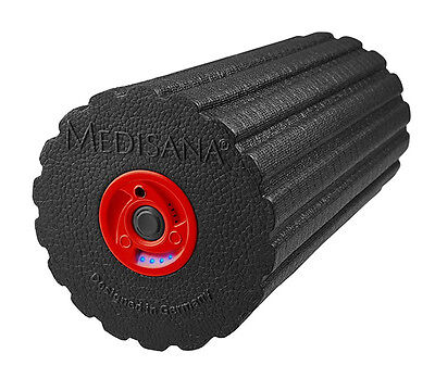 Medisana PowerRoll Massagerolle mit Tiefenvibration (inkl. Übungs DVD)