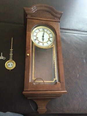 Howard Miller Wall Clock Key Wound Chime