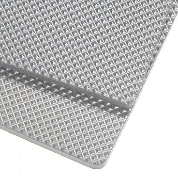 Silver Grey 8mm micro rubber sheets