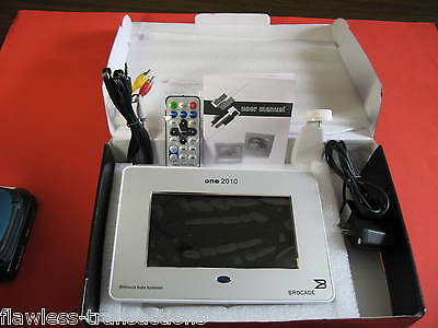 "HITACHI DATA SYSTEMS BROCADE ONE 2010 Silver 7"" Lcd  Digital Picture Photo Frame"