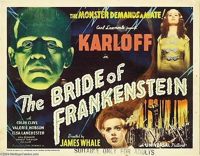 The Bride of Frankenstein (1935) Classic Horror B Movies (DVD -R)